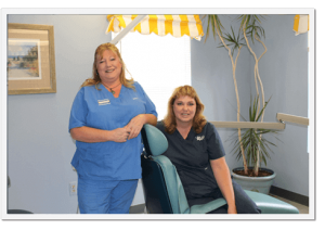 The Orthodontic Assistants of Shrewsbury Orthodontics Janice and Alison